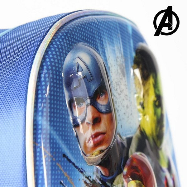 3D-Laste seljakott The Avengers Sinine Metallik