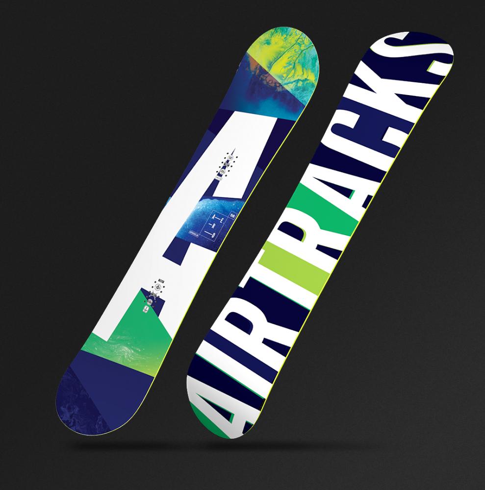 Aero Snowboard Flat Rocker
