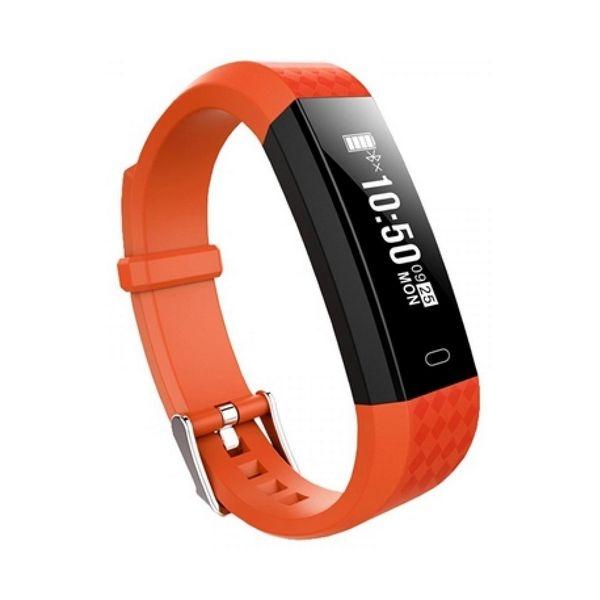 """Aktiivsusmonitor BRIGMTON BSPORT B1 0,87"""" OLED Bluetooth 4.0 IP67 Oranž"""