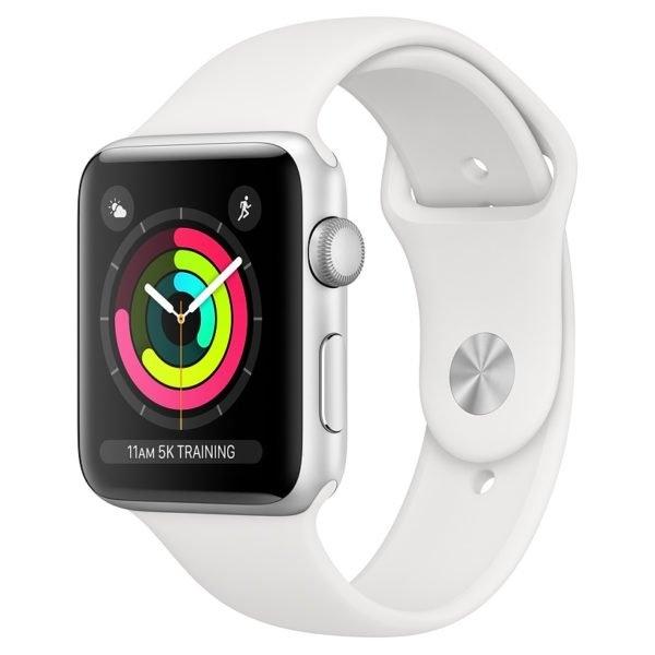 Apple Watch Series 4 GPS Cellular - 40mm Valge, Silver Aluminium Case (karp defektiga)