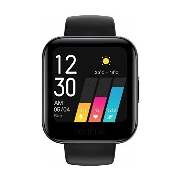 "Nutikell Realme Watch 161 1,4"" 160 mAh Bluetooth 5.0 Must"
