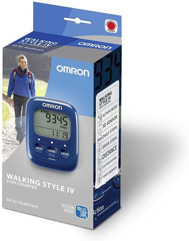 Omron Walking Style IV sammulugeja, sinine