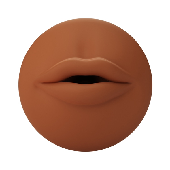 Autoblow - A.I. Silicone Mouth Sleeve Brown