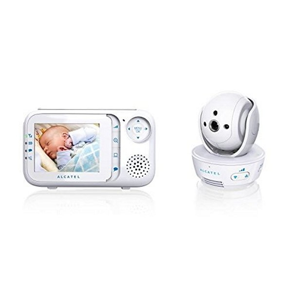 "Beebimonitor Alcatel Baby Link 710 2,8"" LCD PURESOUND Valge"
