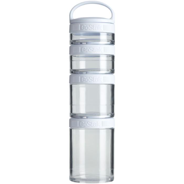 BlenderBottle Storage GoStak Starter Pak, Valge (40 ml + 60 ml + 100 ml + 150 ml)