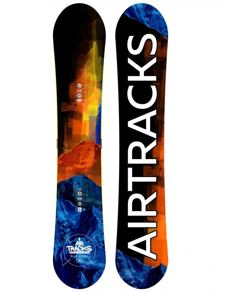 Blue Slopes Snowboard Rocker Wide