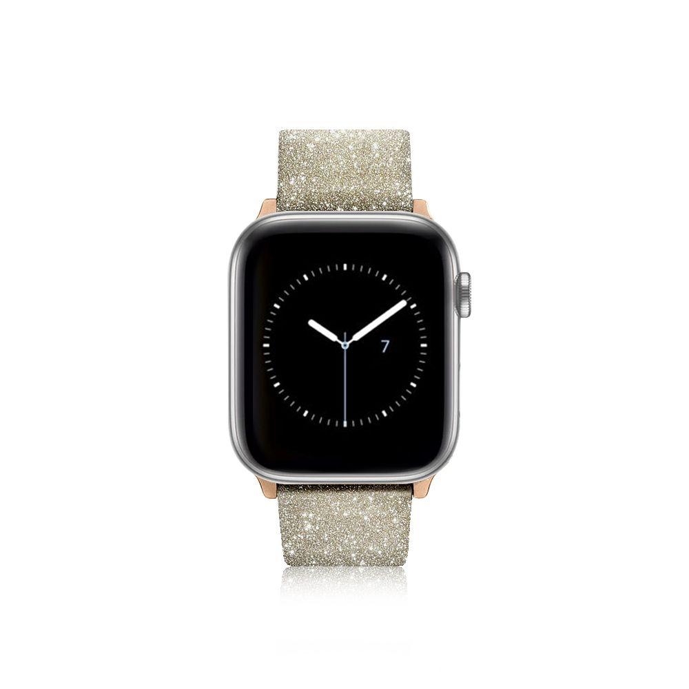 Casetify Glitter Watchband 38mm/40mm Gold