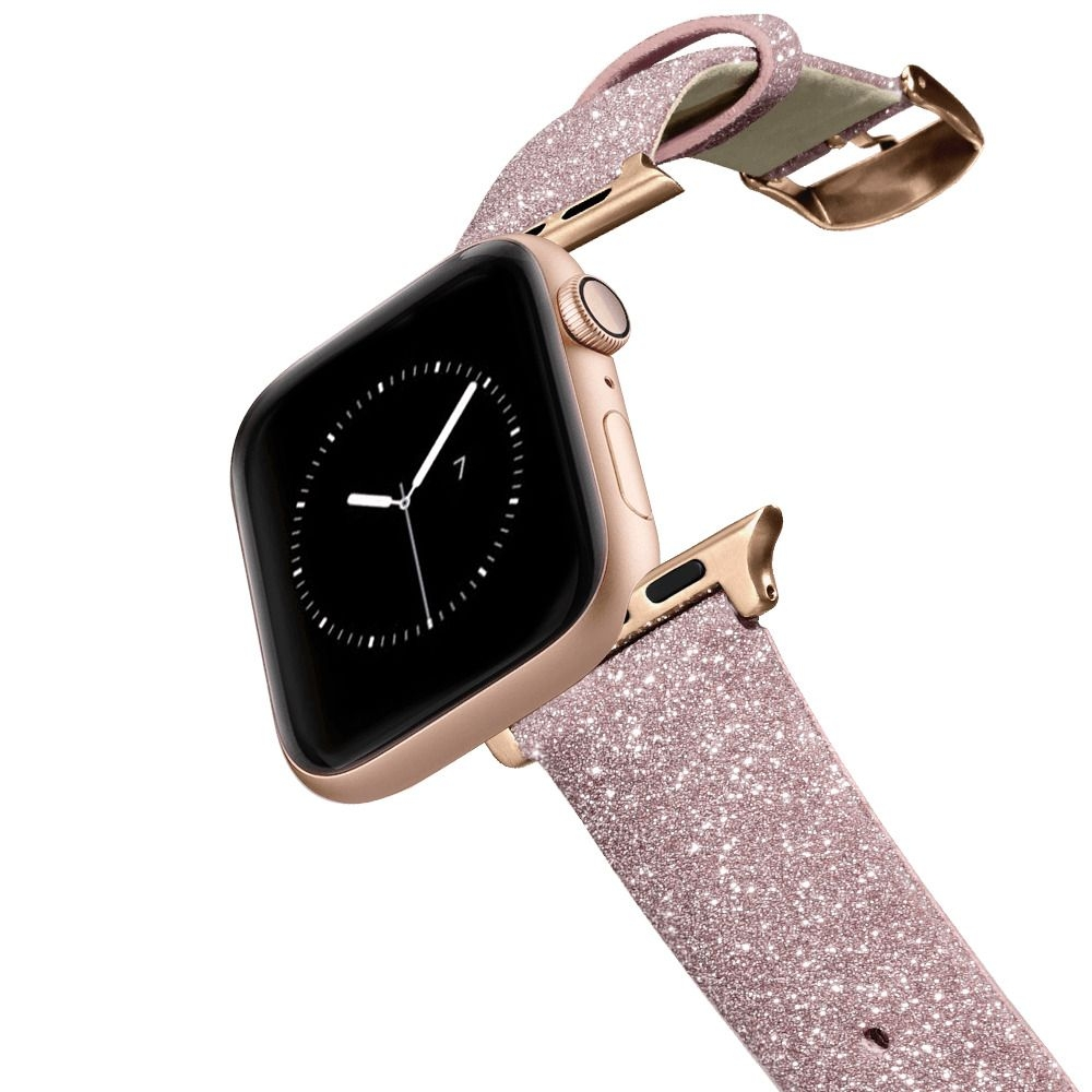 Casetify Glitter Watchband 38mm/40mm Pink