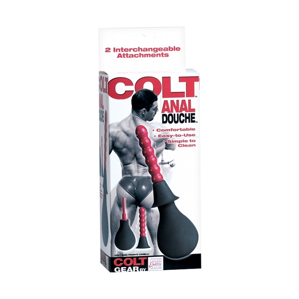 Colt Anal Douche Black Red