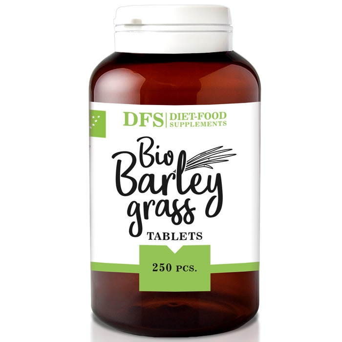 Diet Food Bio Barleygrass odraorase tabletid (250 tk)