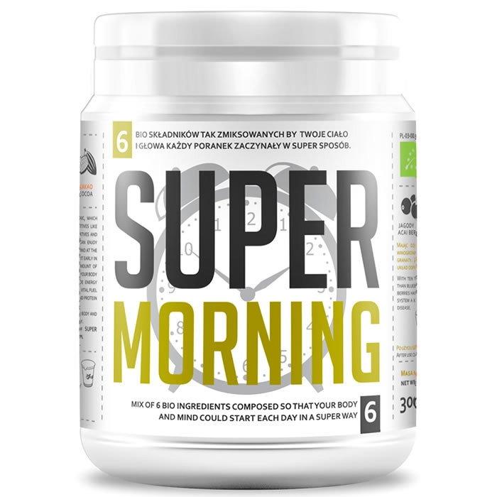 Diet Food Bio Super Morning Mix supertoiduainete segu (300 g)