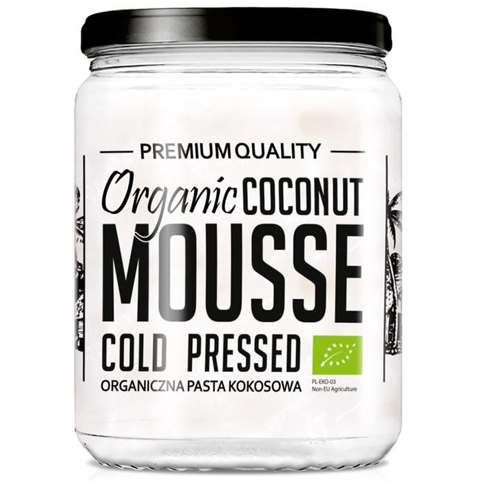 Diet Food Organic Coconut Mousse kookospasta (500 ml)