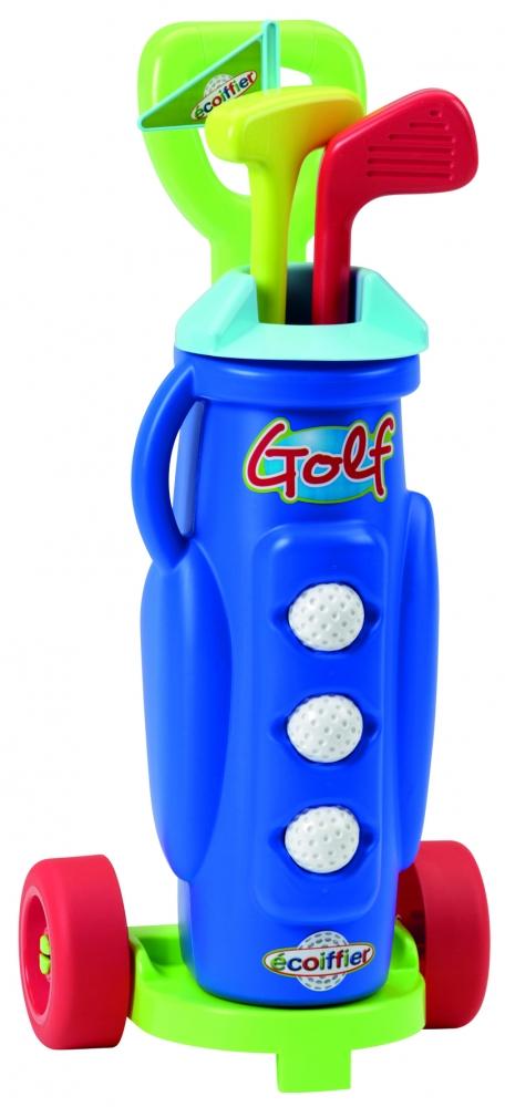 Ecoiffier golfikomplekt