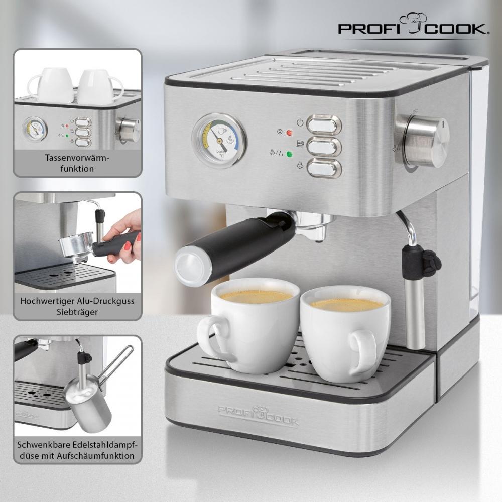 Espressomasin ProfiCook PCES1209
