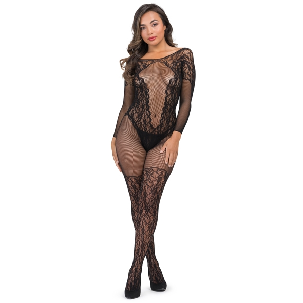 Fifty Shades of Grey - Captivate Spanking Bodystocking One Size