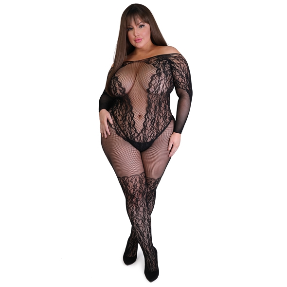 Fifty Shades of Grey - Captivate Spanking Bodystocking Plus