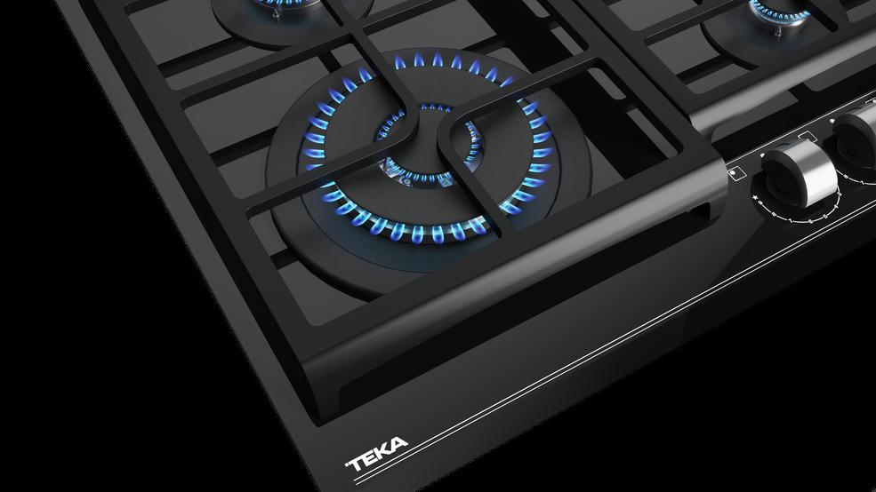 Gaasiplaat Teka GZC64320BK