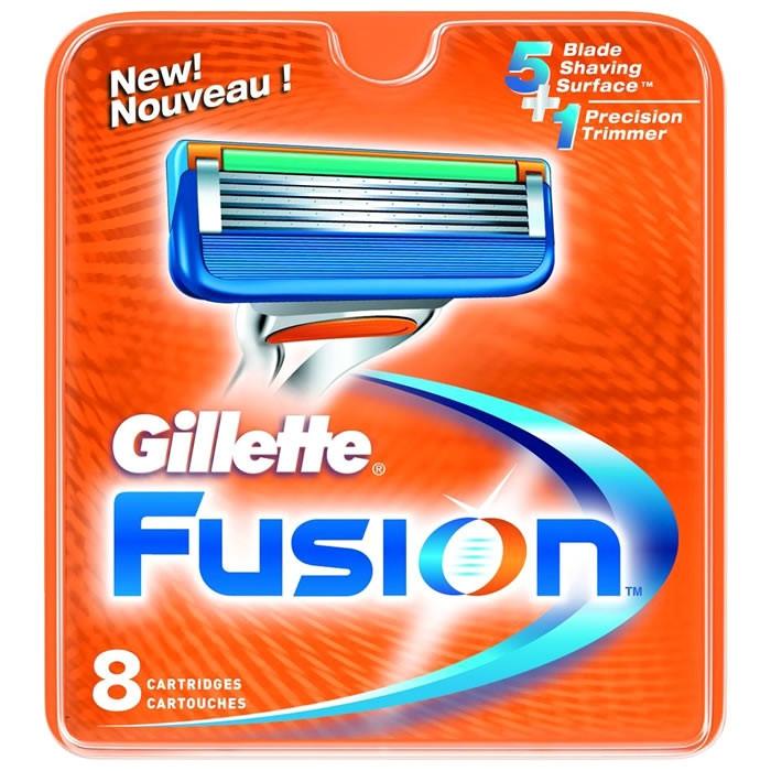 Gillette Fusion5 lisaterad (8 tk)