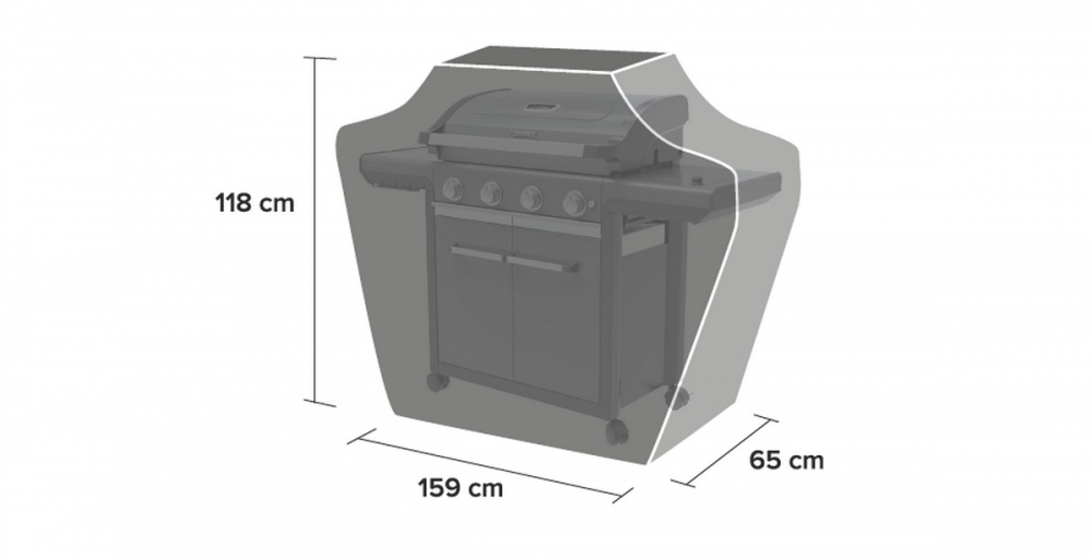 Grillikate BBQ Classic Cover XL 4 series