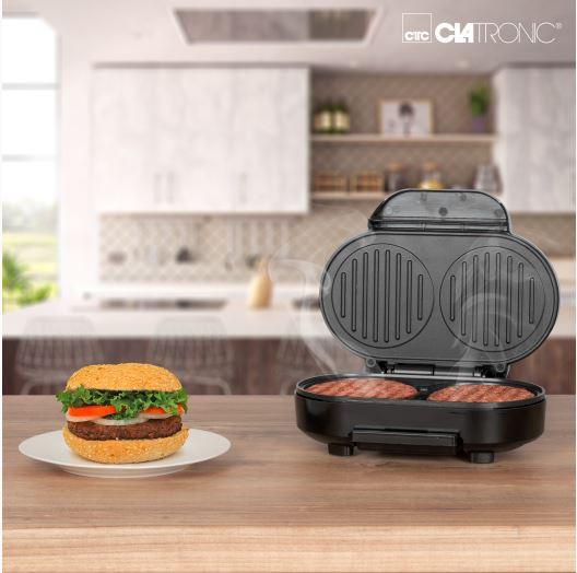 Hamburgerigrill Clatronic HBM3696