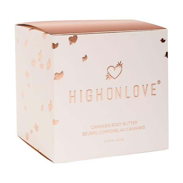 HighOnLove - Cannabis Body Butter 200 ml