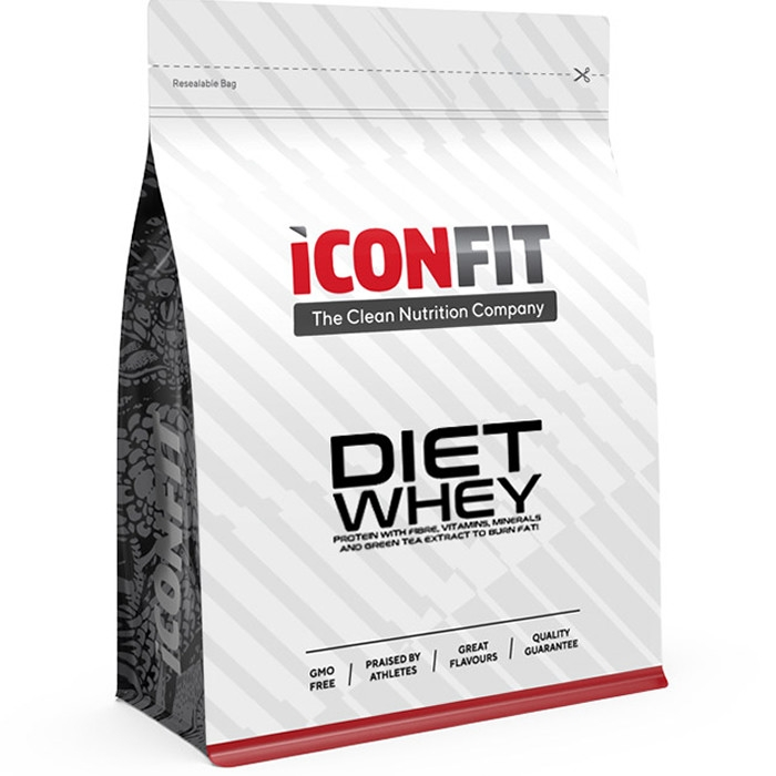 ICONFIT Diet WHEY Protein, Maasika (1 kg)