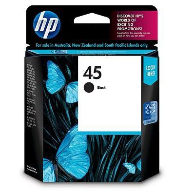 INK CARTRIDGE BLACK NO.45/42ML 51645AE HP
