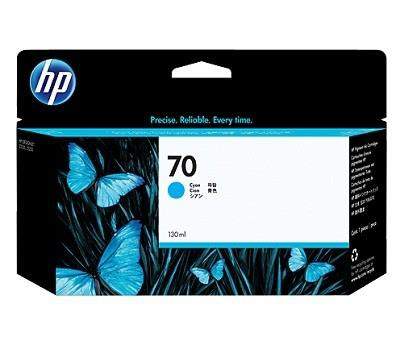 INK CARTRIDGE CYAN NO.70/130ML C9452A HP