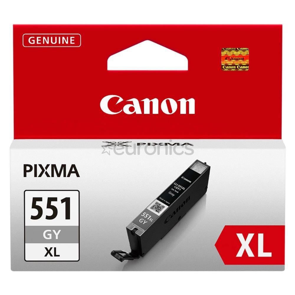 INK CARTRIDGE GREY CLI-551XL/6447B004 CANON
