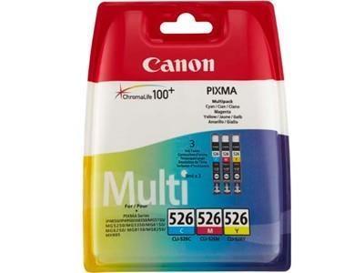 INK CARTRIDGE MULTIPACK CMY/CLI-526 4541B006 CANON
