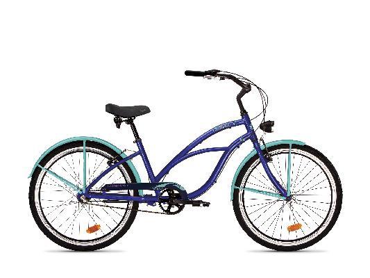 Jalgratas Drag Catwalk I-3 sinine/lilla