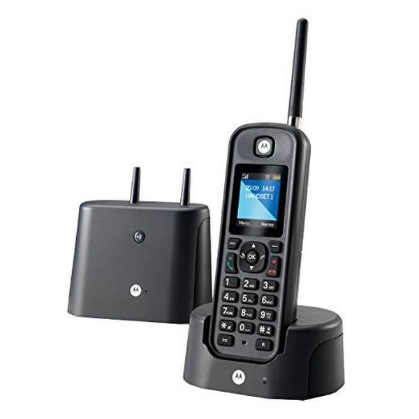 Juhtmevaba Telefon Motorola E52000X60T1GEF03 Must