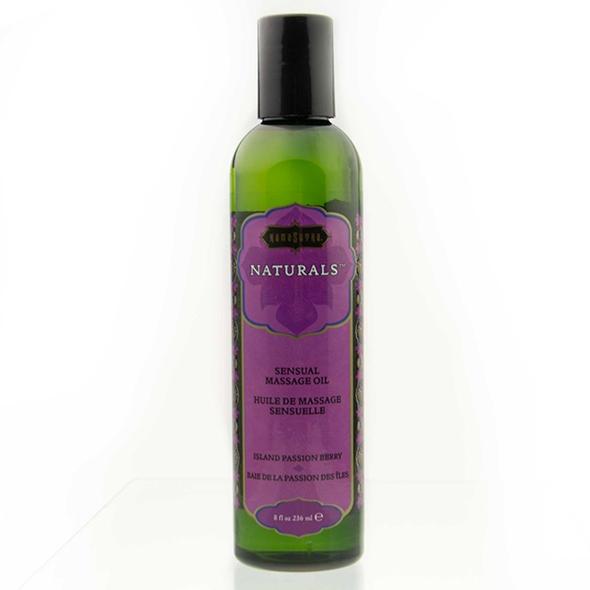 Kama Sutra - Naturals Massage Oil Island Passion Berry 236 ml