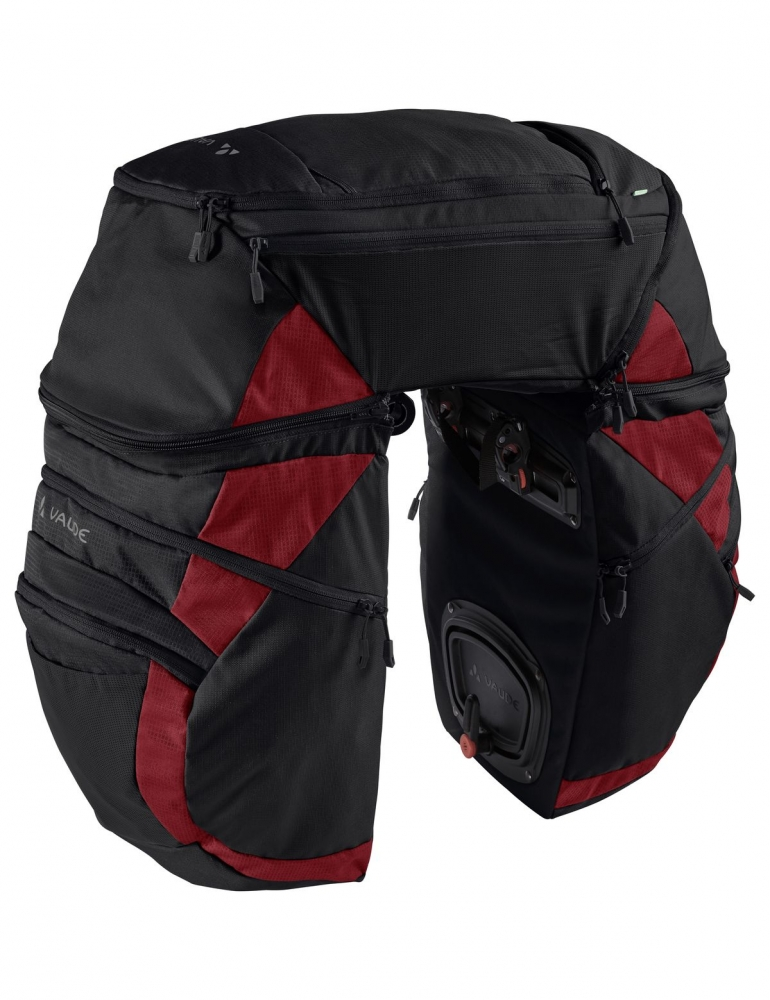 Karakorum Pro must/punane jalgrattakott