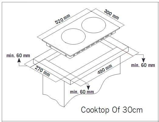 Keraamiline pliidiplaat Schlosser CD321