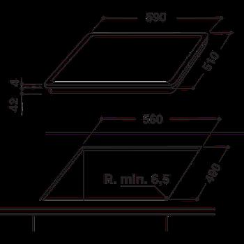 Keraamiline pliidiplaat Whirlpool AKT8210NE