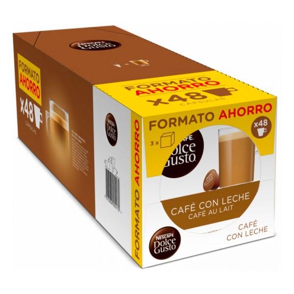 Kohvikapslid Nescafé Dolce Gusto Cafe Au Lait (48 uds)