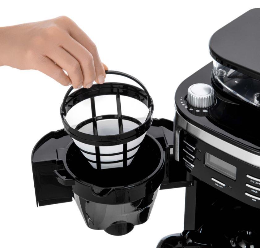 Kohvimasin integreeritud veskiga Sencor SCE7000BK