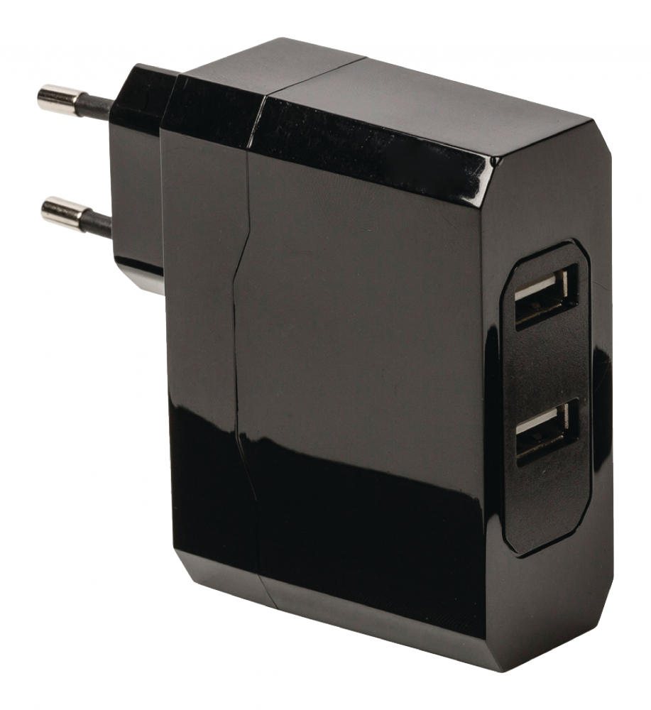 König CS34UW001BL Universaalne kahe USB väljundiga laadija 2,4A ja 2,4A