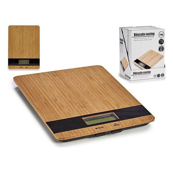 köögikaal (17 x 2 x 23 cm) Digitaalne Bambus
