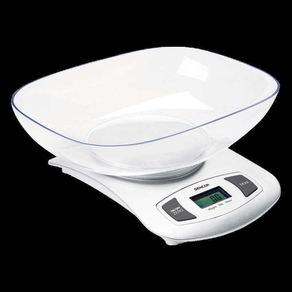 Köögikaal eemaldatava kausiga Sencor SKS4001WH, valge