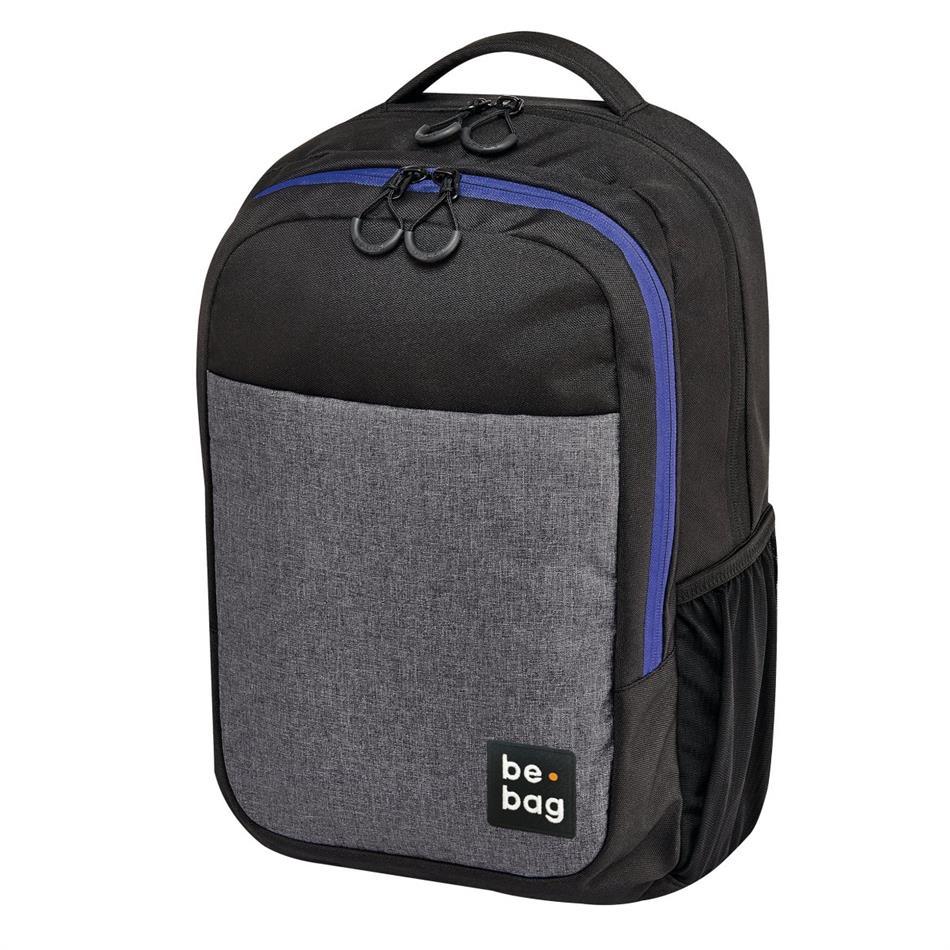 Koolikott-seljakott Herlitz Be.Bag Be Clever - hall/must/sinine, 18 L