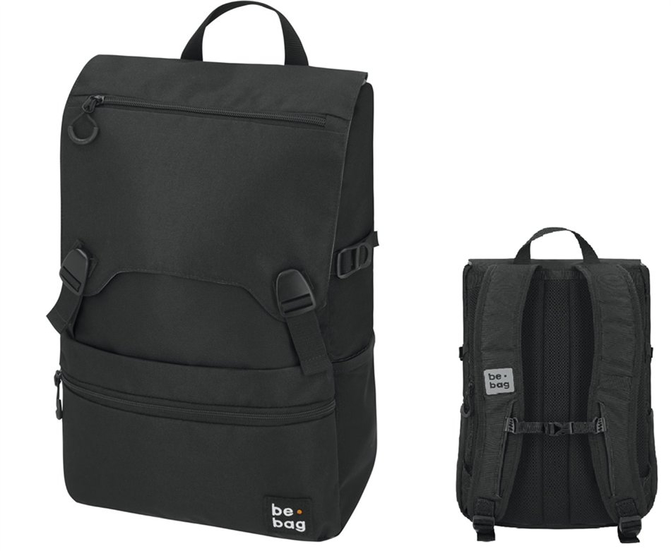 "Koolikott-seljakott Herlitz be.bag ""Be smart"" - 25 l, must"