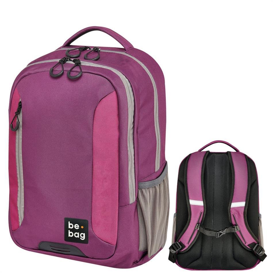Koolikott-seljakott Herlitz Be.Bag Be Adventurer - lilla/roosa/beež, 18 L