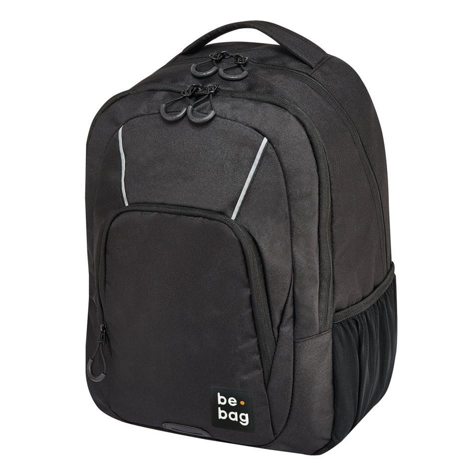 Koolikott-seljakott be.bag Be Simple - must, 23 l
