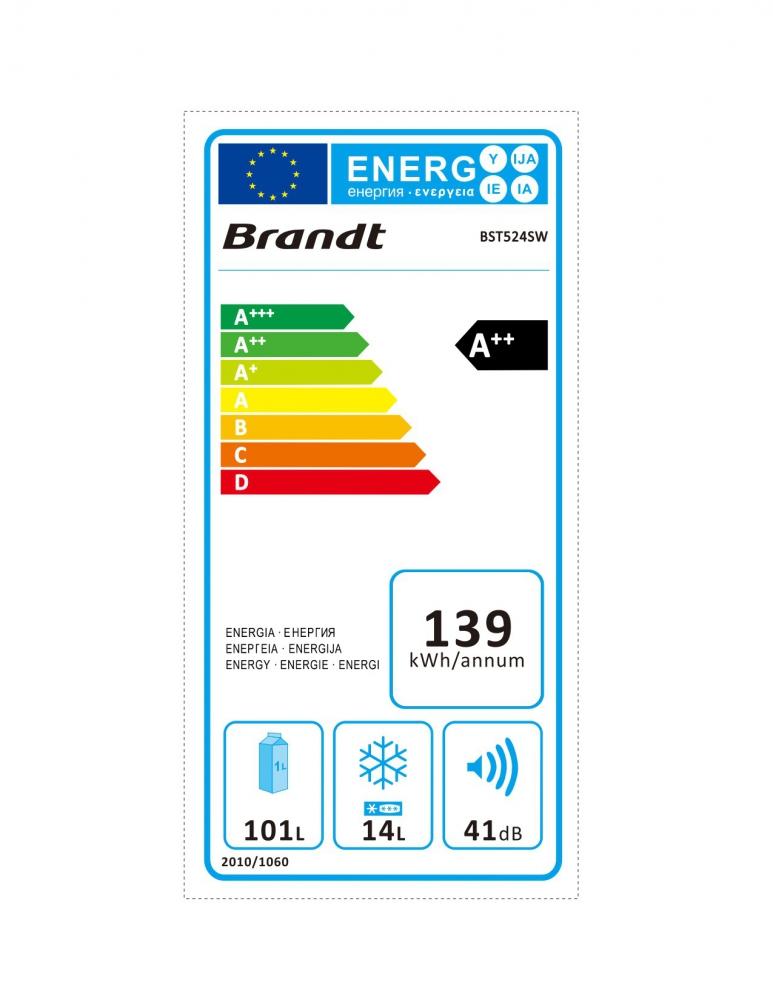 Külmik Brandt BST524SW