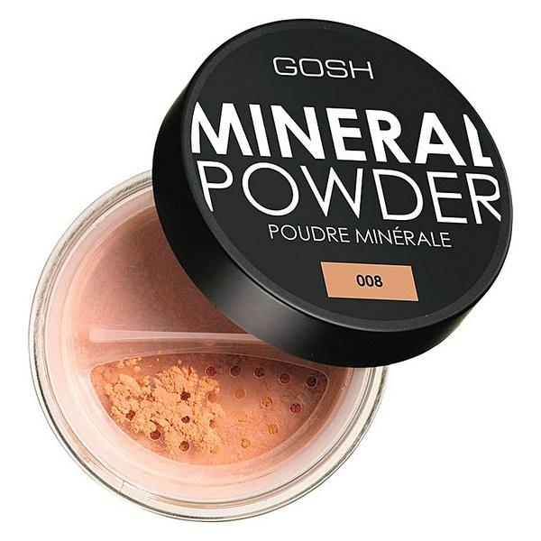 Lahtine puuder Mineral Gosh Copenhagen (8 g)