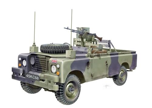 """Land Rover LWB 109"""" FFR"""