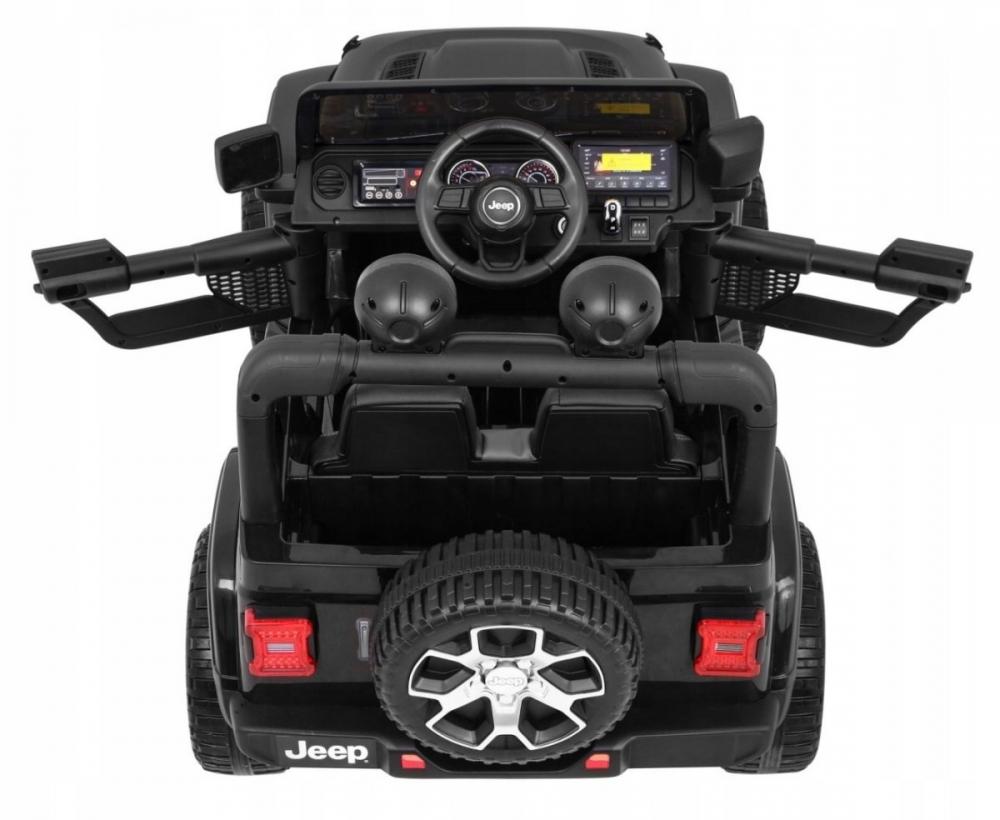 Laste elektriline maastur Jeep Wrangler Rubicon - Must