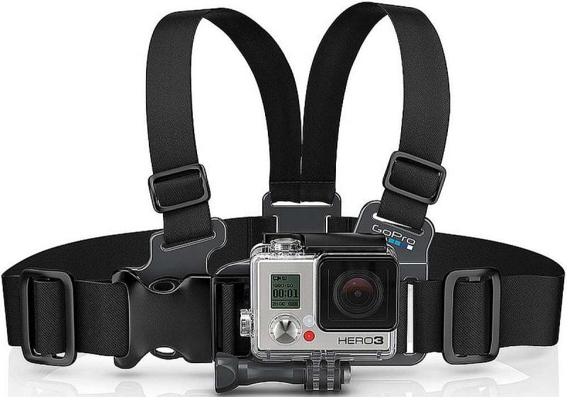 Laste rinnavöö kinnitus GoPro Hero kaamerale